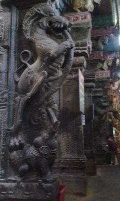 Day 11 Madurai Meenakshiamman Temple detail 2