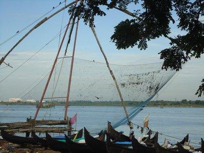 Day 2. Chinese fishing nets