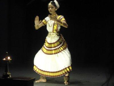 Day 2. Kathakali performance part 1