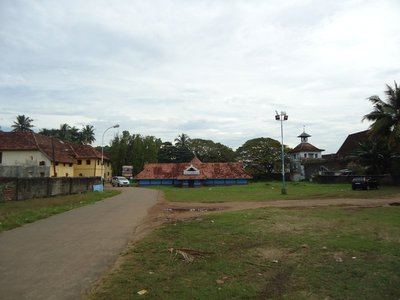Day 2 . Dutch Palace and Synagoge, Kochi (sadly no pictures allowed inside)