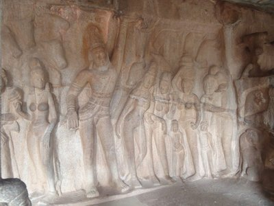 Day 9. Mamallapuram Monuments - Wall Carvings