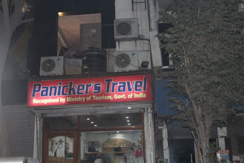 Aptly named travel agent