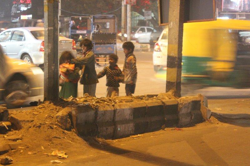 Delhi street kids