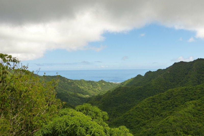View of Rarotonga, Cook Islands