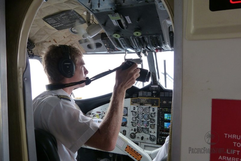 pilot picture during flight