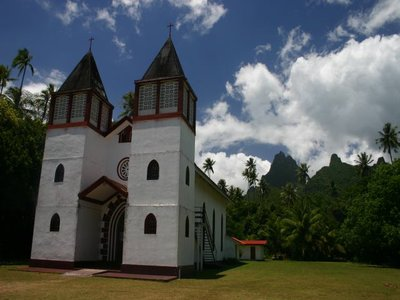 Cool Church on Moorea