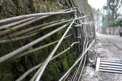 Water pipe confusion Gangtok