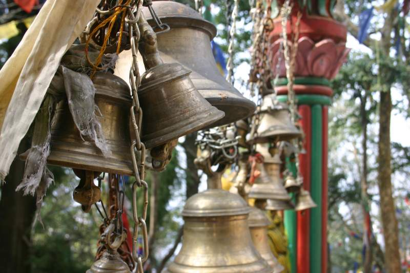 Bells at the DJ Gompa