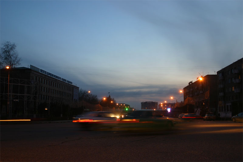 Shymkent street