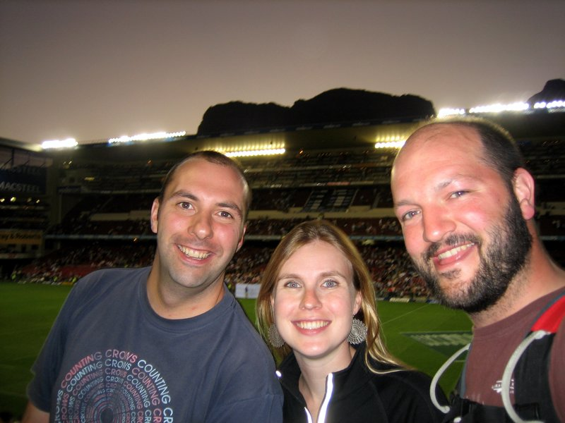 Scott Nat and Ev @ Newlands