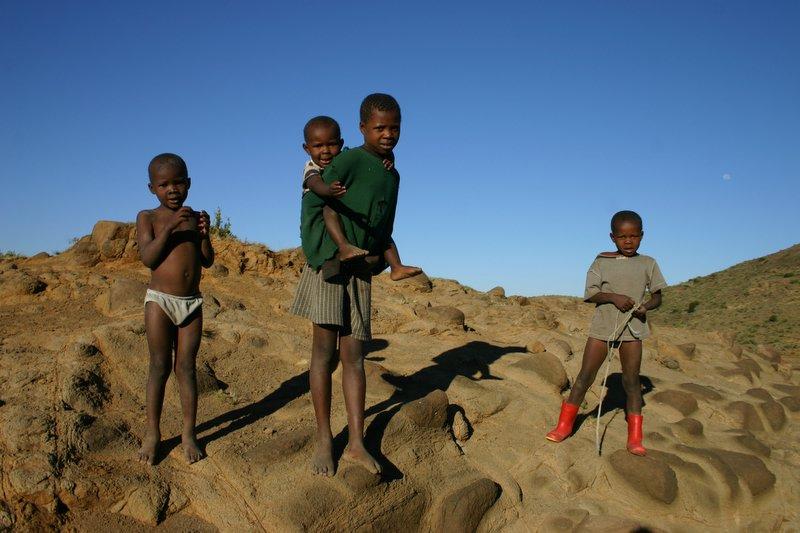 Lesotho kids