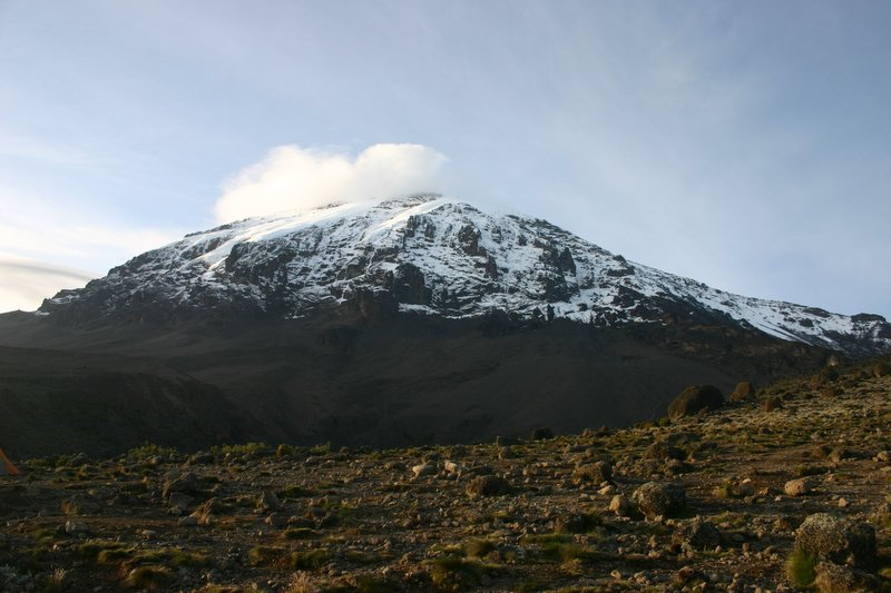 Mt Kili from Karanga camp