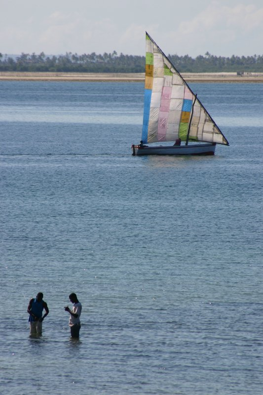 Patchwork dhow
