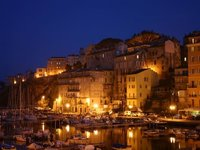 Bastia Harbour at Dusk