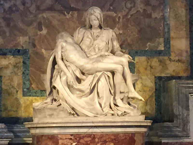 The Pieta - by Michelangelo