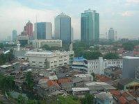 Sky line Jakarta