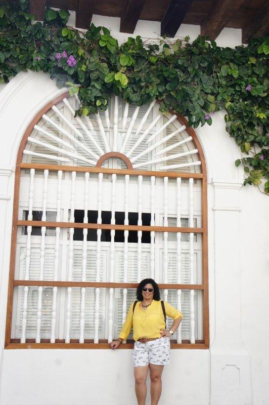janelas de Cartagena