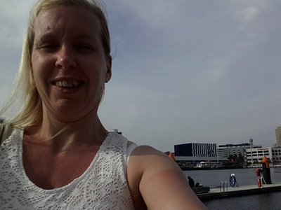 Me at the Docklands