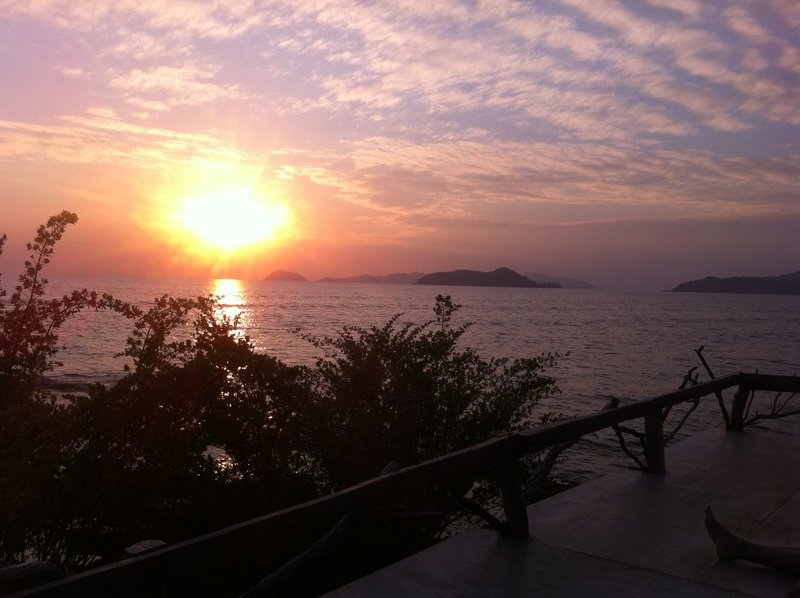 Sunset on Koh Mak