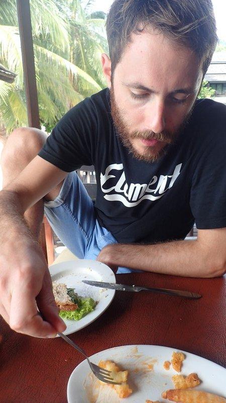 Jack eating