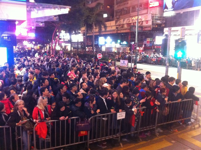 Lunar new year parade - Hong Kong