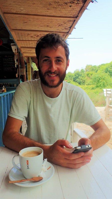 Breakfast at Food Art Hut on Koh Mak