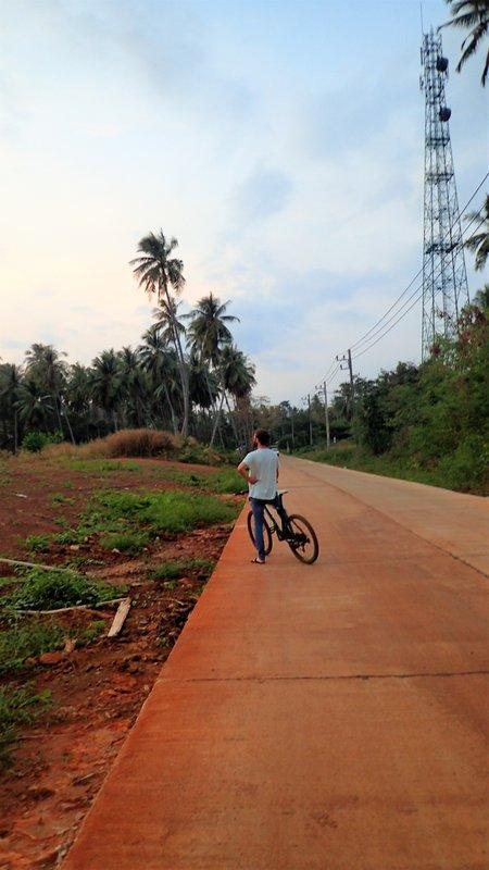 Bike riding on Koh Mak