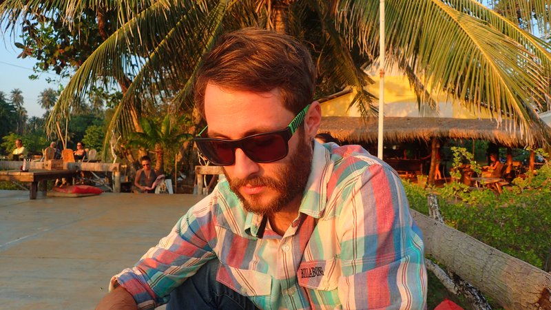 Jack at Banana Sunset Bungalow, Koh Mak