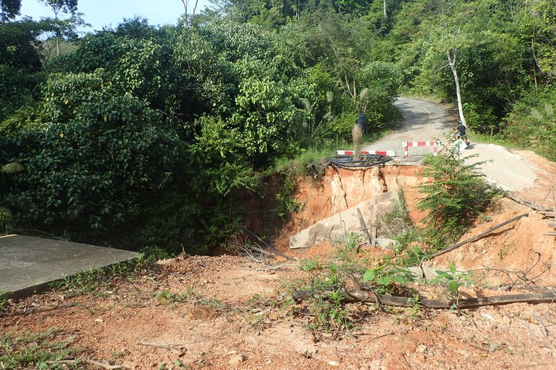 Collapsed Road - Koh Chang
