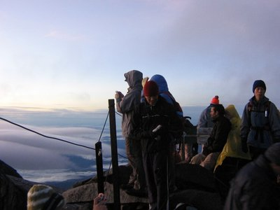 Summit of Mt Kinabalu