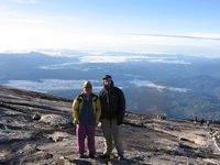 Me on Kinabalu with Saiun, my guide