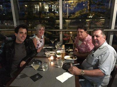 Family Dinner at Bin72