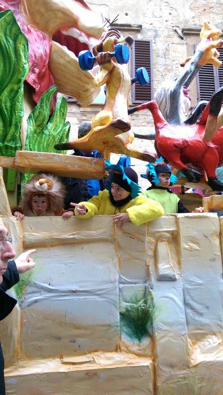 Carnivale at San Gimignano Castle