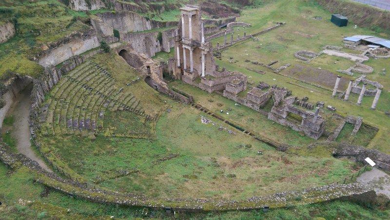 Roman theatre at Volterra