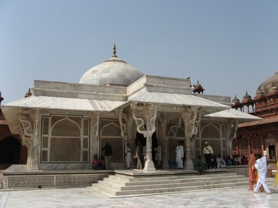The marble mausoleum of Muslim Sufi saint Salim Chisti