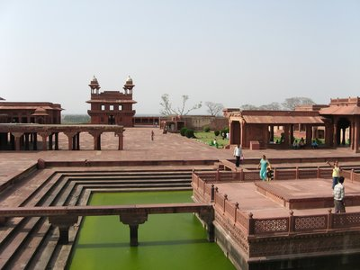 The palace grounds, Fatehpur Sikri