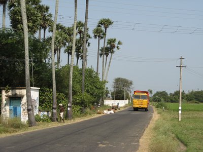 Country roads, Tamil Nadu