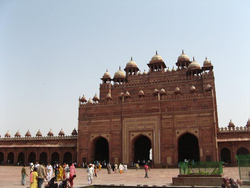 Fatehpur Sikri, courtyard