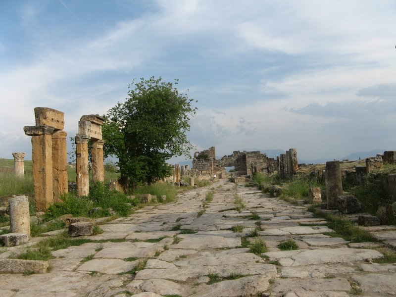 Roman road, Hierapolis