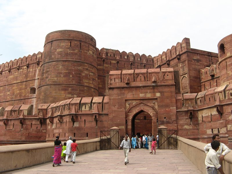 Agra fort entrance