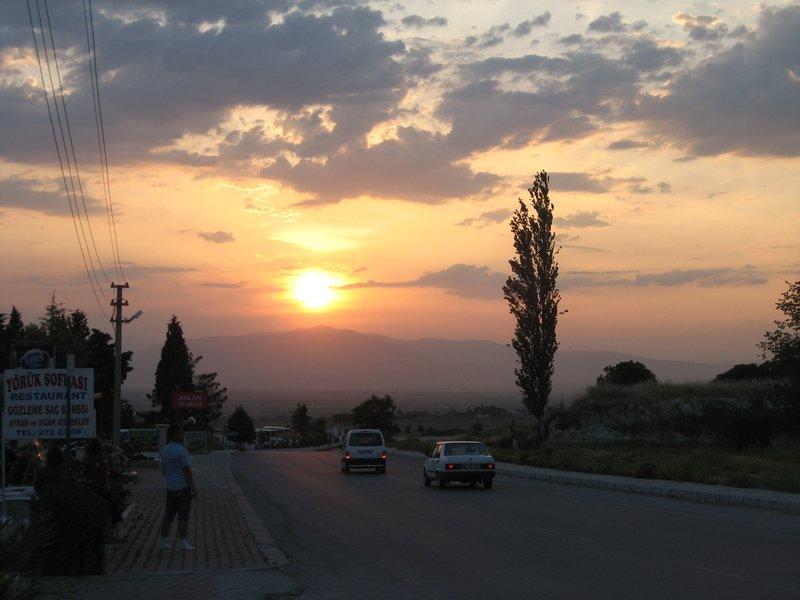 Pamukkale highway