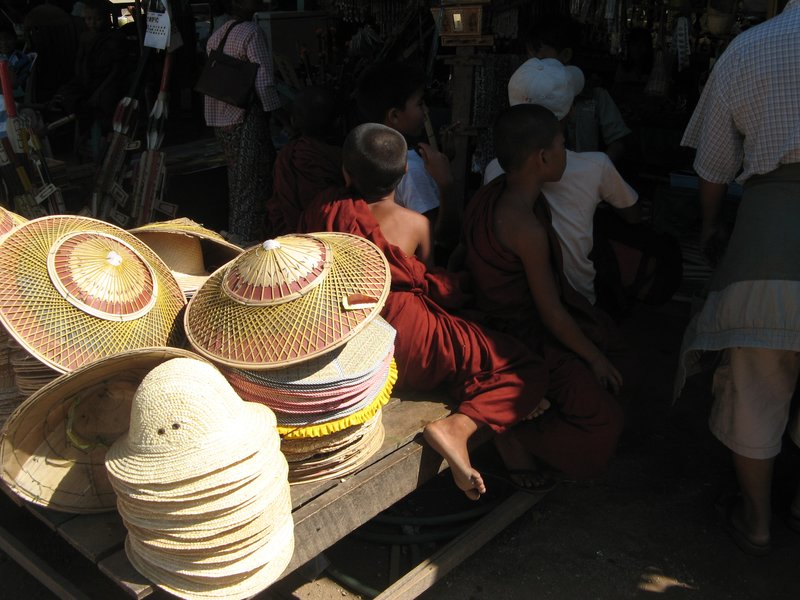Young Monks at base camp