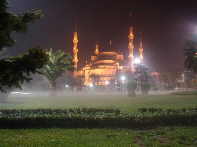 Agia Sophia by night. Istanbul.