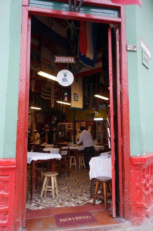 Ceviche restaurant