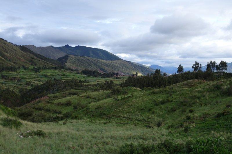 Hills outside Cusco
