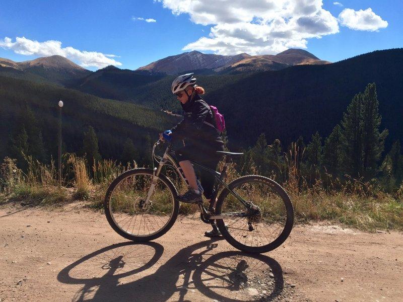 Nicole Biking