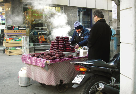 Hot Beet Root Seller (or Labu Froosh)
