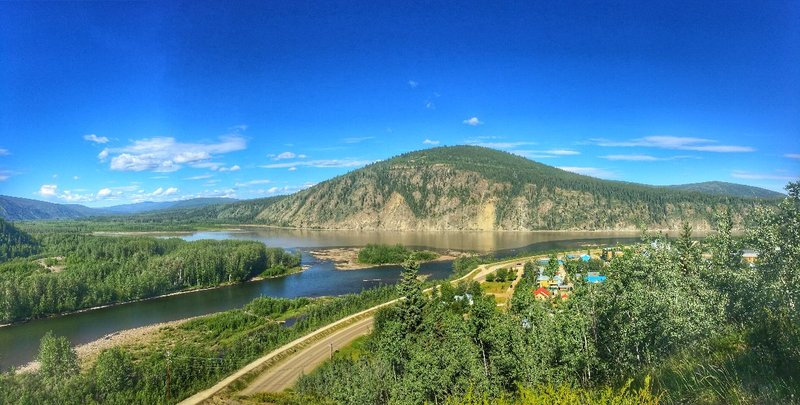 Yukon - Klondike River Colour -2