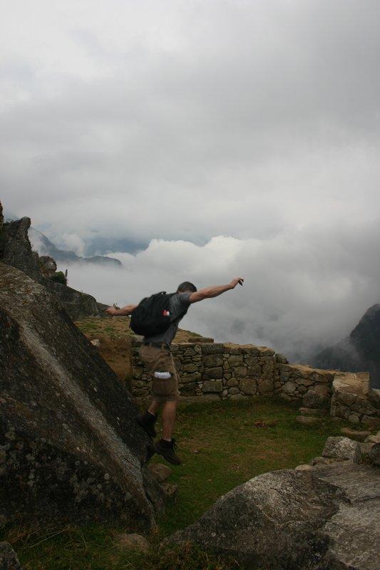 """Machu Picchu """"Rock Slide"""""""