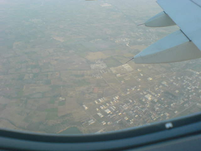 Woha, That's Bangalore from Air